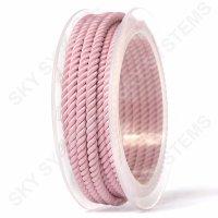 Шелковый шнур Милан 226 | 4.0 мм, Цвет: Розовый 17