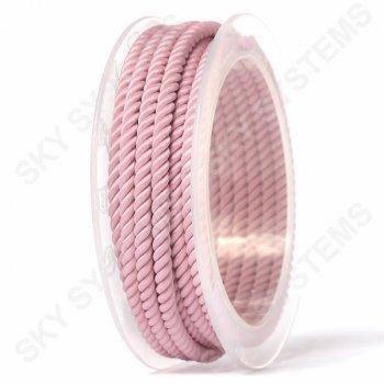 Шелковый шнур Милан 226 | 4.0 мм, Цвет:Розовый 17