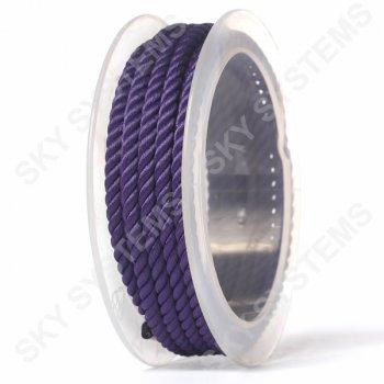 Шелковый шнур Милан 226   4.0 мм, Цвет: Фиолетовый 25