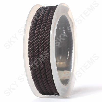 Шелковый шнур Милан 226 | 4.0 мм, Цвет: Коричневый 35