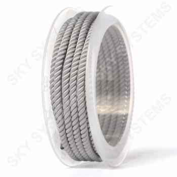 Шелковый шнур Милан 226 | 4.0 мм, Цвет: серый 03