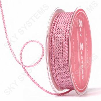 Плетеный шелковый шнур Милан 2017 | 2,5 мм, Цвет: Розовый 07