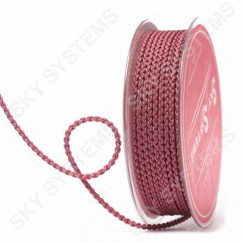 Плетеный шелковый шнур Милан 2017 | 2,5 мм, Цвет: Красно-коричневый 12