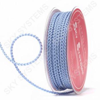 Плетеный шелковый шнур Милан 2017 | 2,5 мм, Цвет: Голубой 26