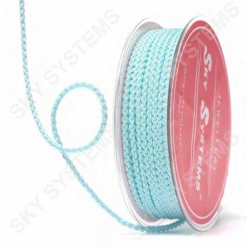 Плетеный шелковый шнур Милан 2017 | 2,5 мм, Цвет: Бирюзовый 27