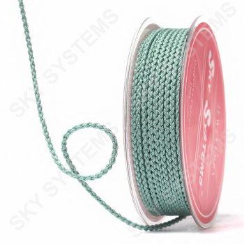 Плетеный шелковый шнур Милан 2017 | 2,5 мм, Цвет: Зеленый 29