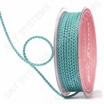 Плетеный шелковый шнур Милан 2017 | 2,5 мм, Цвет: Зеленый 30