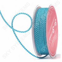 Плетеный шелковый шнур Милан 2017 | 2,5 мм, Цвет: Бирюзовый 31