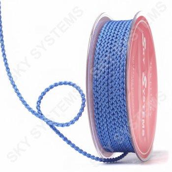 Плетеный шелковый шнур Милан 2017 | 2,5 мм, Цвет: Синий 32