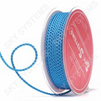Плетеный шелковый шнур Милан 2017 | 2,5 мм, Цвет: Синий 33