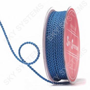Плетеный шелковый шнур Милан 2017 | 2,5 мм, Цвет: Синий 34