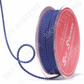 Плетеный шелковый шнур Милан 2017 | 2,5 мм, Цвет: Фиолетовый 35