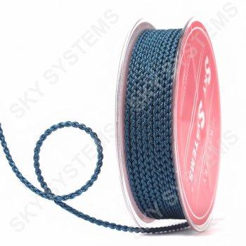 Плетеный шелковый шнур Милан 2017   2,5 мм, Цвет: Зеленый 38