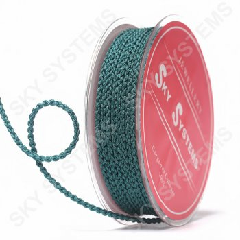 Плетеный шелковый шнур Милан 2017 | 2,5 мм, Цвет: Зеленый 39