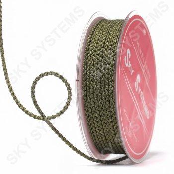 Плетеный шелковый шнур Милан 2017   2,5 мм, Цвет: Зеленый 41