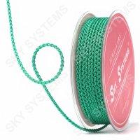 Плетеный шелковый шнур Милан 2017 | 2,5 мм, Цвет: Зеленый 44