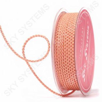 Плетеный шелковый шнур Милан 2017 | 2,5 мм, Цвет: Оранжевый 49