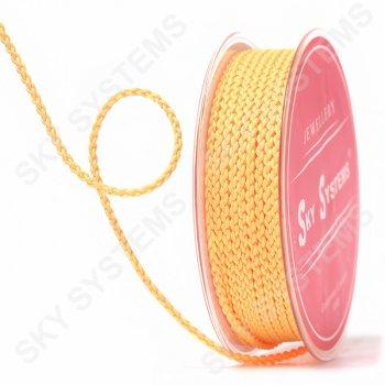 Плетеный шелковый шнур Милан 2017 | 2,5 мм, Цвет: Оранжевый 50