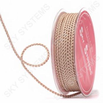 Плетеный шелковый шнур Милан 2017 | 2,5 мм, Цвет: Бежевый 53