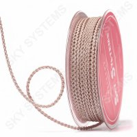 Плетеный шелковый шнур Милан 2017 | 2,5 мм, Цвет: Бежевый 55