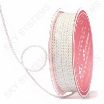 Плетеный шелковый шнур Милан 2017 | 2,5 мм, Цвет: Белый 80