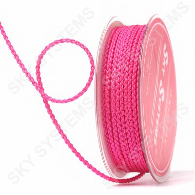 Плетеный шелковый шнур Милан 2017 | 2,5 мм, Цвет: Розовый 03