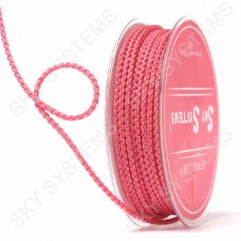 Плетеный шелковый шнур Милан 2017   2,5 мм, Цвет: Розовый 05