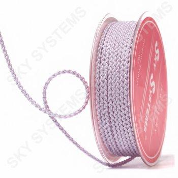 Плетеный шелковый шнур Милан 2017   2,5 мм, Цвет: Розовый 24