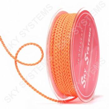 Плетеный шелковый шнур Милан 2017 | 2,5 мм, Цвет: Оранжевый 47