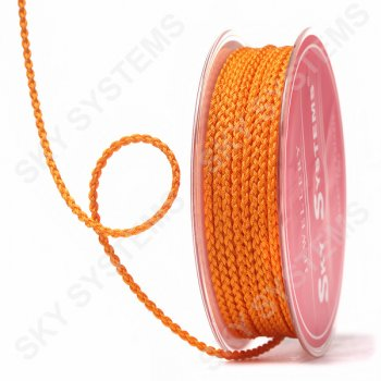 Плетеный шелковый шнур Милан 2017 | 2,5 мм, Цвет: Оранжевый 48