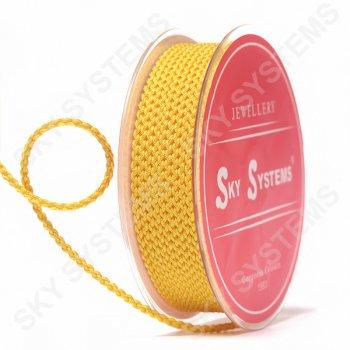 Плетеный шелковый шнур Милан 2017 | 2,5 мм, Цвет: Оранжевый 51