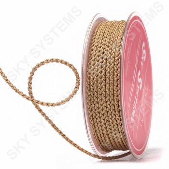 Плетеный шелковый шнур Милан 2017 | 2,5 мм, Цвет: Коричневый 59