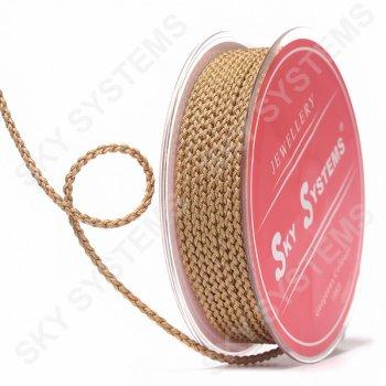 Плетеный шелковый шнур Милан 2017 | 2,5 мм, Цвет: Коричневый 60