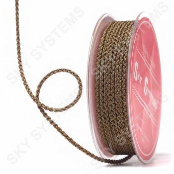 Плетеный шелковый шнур Милан 2017 | 2,5 мм, Цвет: Коричневый 63