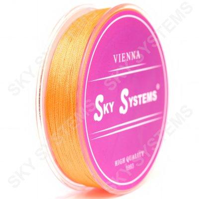 Оранжевые нитки для сережек-кисточек 0,4 мм 39