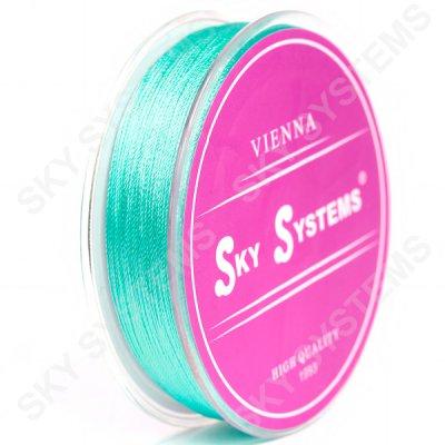 Голубые нитки для сережек-кисточек 0,4 мм 42