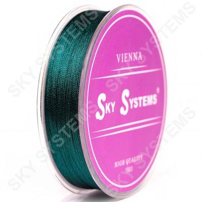 Зеленые нитки для сережек-кисточек 0,4 мм 60