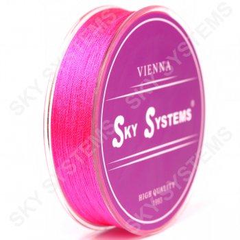 Розовые нитки для сережек-кисточек 0,4 мм
