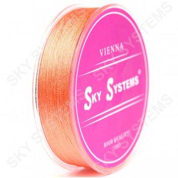 Оранжевые нитки для сережек-кисточек 0,4 мм