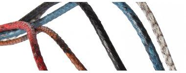 Шнуры и ленты из кожи питона