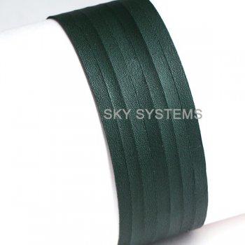 Кожаная лента зеленая 3,0 х 0,7 мм
