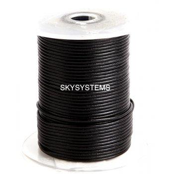 Кожаный шнур черный 1,5 мм