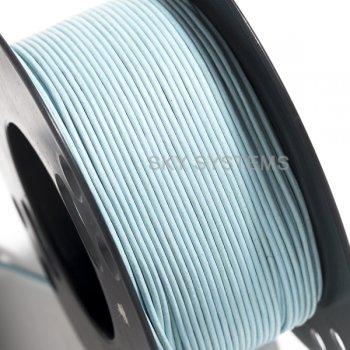 Кожаный шнур голубой 1,5 мм
