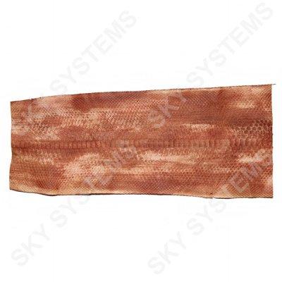 Обрезки натуральной кожи питона | Цвет: Коричневый