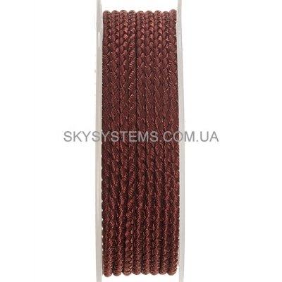 Шелковый шнур Милан 2016 | 2.5 мм, Цвет: Коричневый 04