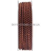 Шелковый шнур Милан 2016 | 3.0 мм, Цвет: Коричневый