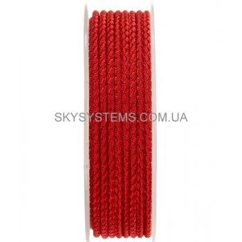 Шелковый шнур Милан 2016 | 3.0 мм, Цвет: Красный 08