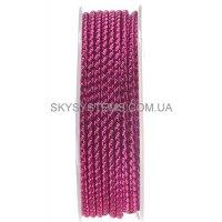 Шелковый шнур Милан 2016 | 3.0 мм, Цвет: Пурпурный