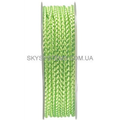 Шелковый шнур Милан 2016 | 2.5 мм, Цвет: Салатовый 18