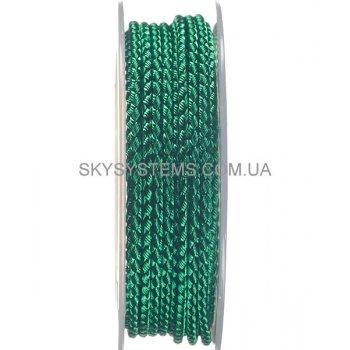 Шелковый шнур Милан 2016 | 2.5 мм, Цвет: Зеленый 24